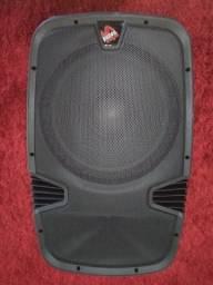 Caixa de som portátil Prime Sound - bluetooth - 220V - Semi Nova