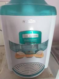 Purificador de água refrigerado com filtro, latino