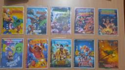 DVDs R$: 2,50 por unidade