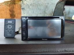 DVD Pioneer 2 Din semi-novo pouco tempo de uso