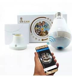 Lampada Camera Vr Cam 360 Wifi x 12x R$ 18,99 x Entrega Grátis x Garantia 3