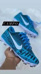 Chuteira Campo Nike Blue