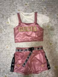Lindo Conjunto infantil moda Gucci