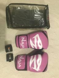 Luva e Bandagem Muay Thai
