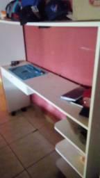 Bancada para manutenção de celulares vitrine armário
