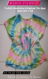 1 T-shirt tie dye original MARIA FILO tam GG n46 Liquidaçao ultima 50,00