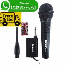 Microfone Sem Fio Profissional (NOVO)