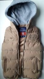 Colete Infantil Polo Wear Original Com Capuz Original Top