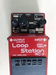 Pedal de Loop Boss Loop Station RC-2