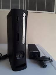 XBOX 360 fat com defeito + HD funcionando e fonte com defeito