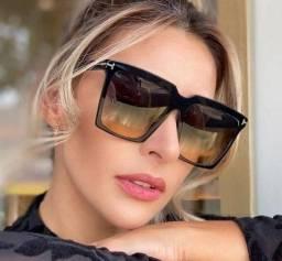 Óculos de Sól Oversize com Proteção UV