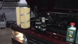 D20 Custon 94 com ar condicionado direção hidráulica e turbo de fábrica