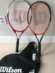Duas raquetes Wilson