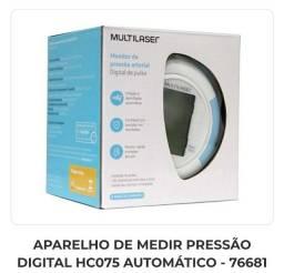 Monitorde Pressão Arterial Digital de Pulso Multilaser HC075<br><br>