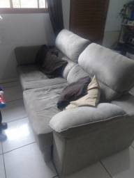 Vendo sofa retratil e reclinavel