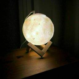 Umidificador luminária e aronatizador lua cheia 3D, acompanha base. R$120,00 ENTREGO