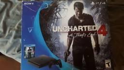 Playstation 4 Build Uncharted 4 Mais 4 jogos Midia fisica
