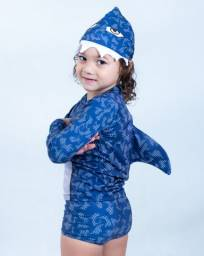 Título do anúncio: Fantasia Tubarão Infantil baby shake