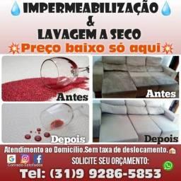 Impermeabilização de estofados