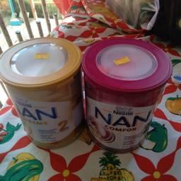 Leite Nan Comfor 2 e Nan Supreme 2