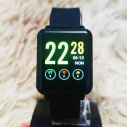 Relógio digital inteligente smartwatch Colmi Land de qualidade incrível