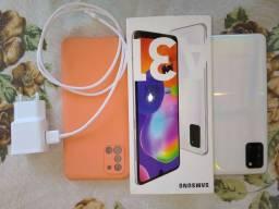 Celular Samsung A31 128g  semi novo
