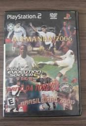 Jogo PS2 futebol PES 2006 raridade