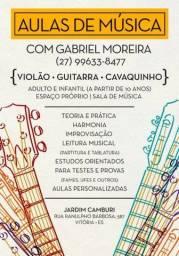 Aulas de Violão/Guitarra/Cavaquinho