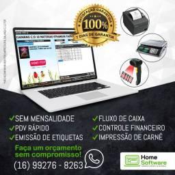 Sistema PDV Frente de Caixa, Financeiro, Entradas, Despesas, Completo - Santa Maria
