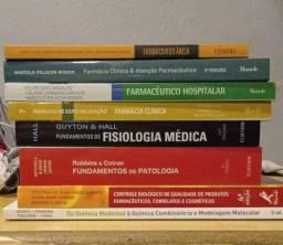 Livros de farmácia
