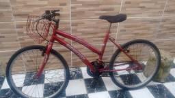 Vendo bicicleta seminova aro 24.
