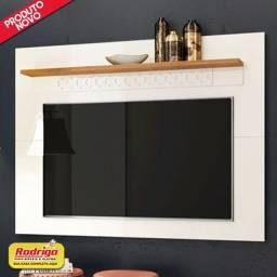 Título do anúncio: Painel Frade Win New (Off White/Coral) p/TV até 62 polegadas