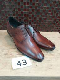 Sapato social grife em couro p/atacado R$36,00