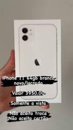iPhone 11 64gb branco / lacrado