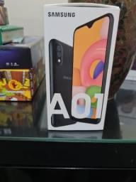 Samsung A01 - Novo, sem uso!