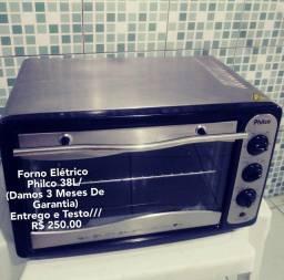 Forno Elétrico Philco 38L/Com Garantia/Entrego