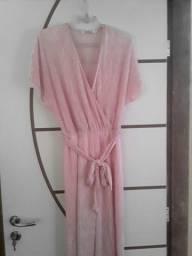 Macaquinha nunca usado na cor rosa veste super bem veste até o 40