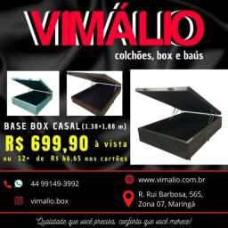 Aproveite !!! Box Bau espumado VIMALIO casal padrão 1,38x1,88