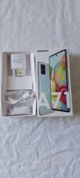 Samsung Galaxy A71 Com Caixa, NF, 15 dias de uso.