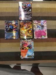 Cartas Pokémon EX,GX,TURBO,CARTAS GRANDES,CÓDIGOS.