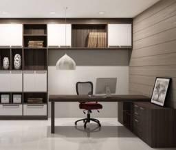 Móveis planejados para escritório e residencial.