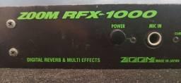 Processador ZOOM de Efeitos ( Voz e Instrumentos)