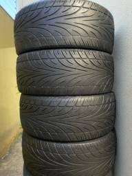 Vendo 4 pneus aro 20 meia vida