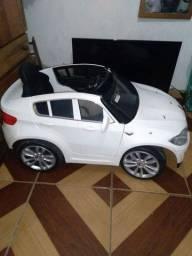 Carro elétrico infantil BMW branco