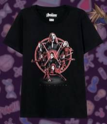 Blusa feminina Viúva Negra (Black Widow)