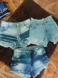 Bermudas jeans feminina usada