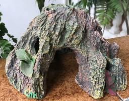 Ornamento Para Tanque De Peixes / Ponte / Caverna / Cave / Ponte Para Decoração De Aquário