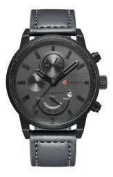 Relógio Masculino Curren Original Pulseira em Couro