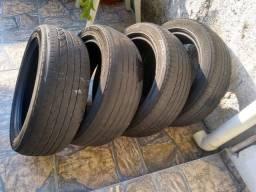 Vendo 4 pneus meia vida 16 por apenas R$200.00
