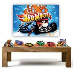 Título do anúncio: Kit decoração festa infantil Hot Weels